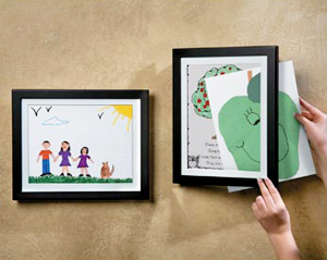 frame it kids artwork display - Kids Art Frame