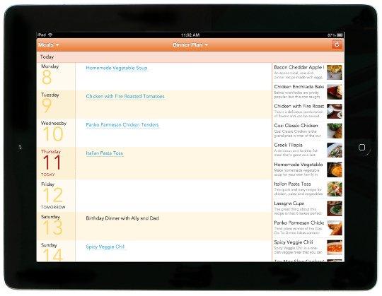 Meals_iPad_DinnerPlan540