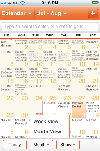Month view 3