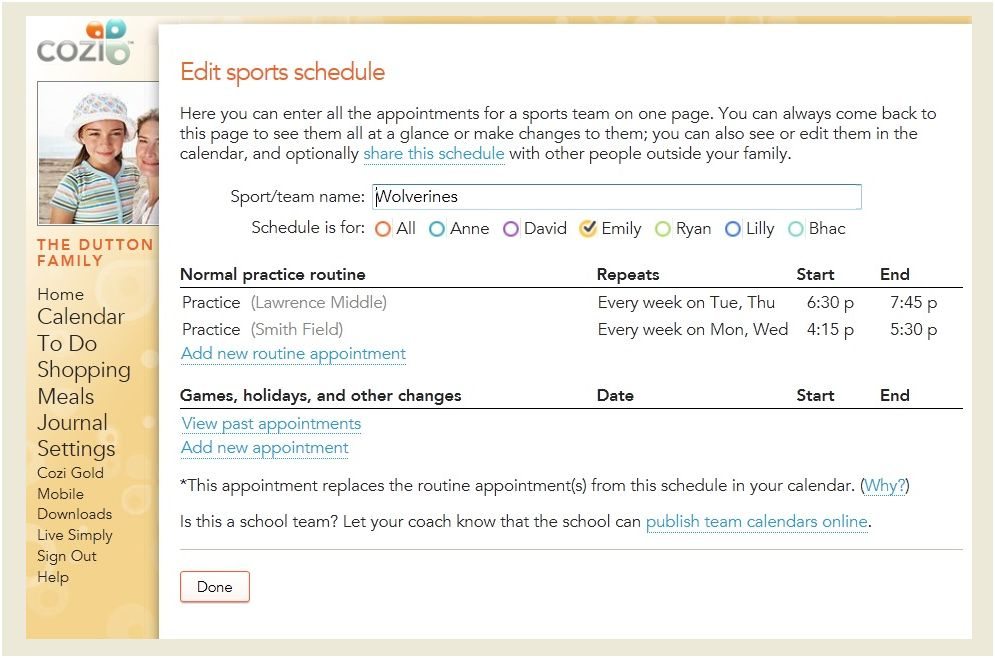 Have You Tried the Cozi Schedules Feature Yet?