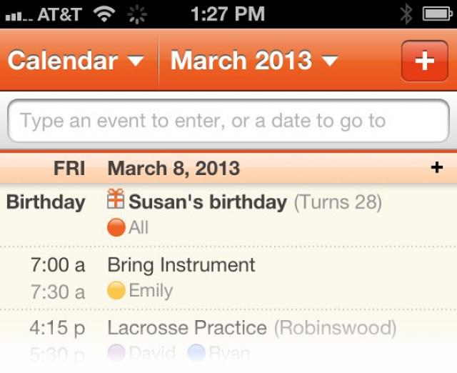 Introducing Birthday Tracker for Cozi Gold!