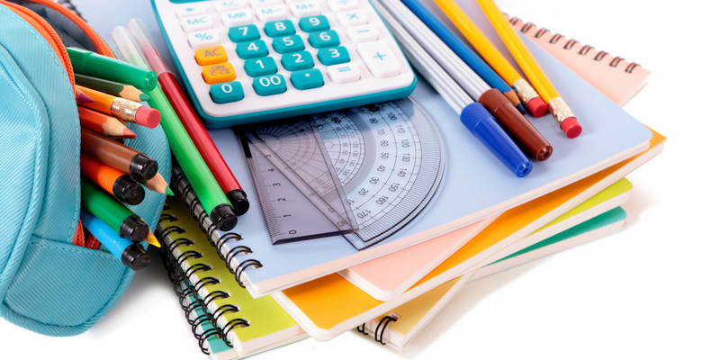 Middle School Supplies List Cozi Family Organizer