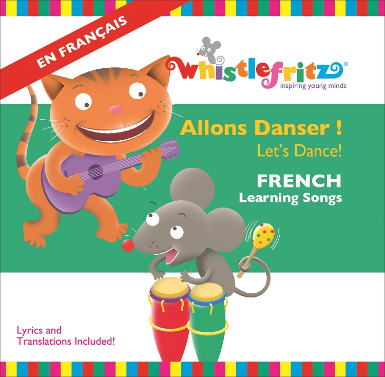 NAPPA Best Gifts for Kids - French for Kids: Allons Danser! (Let's Dance!)
