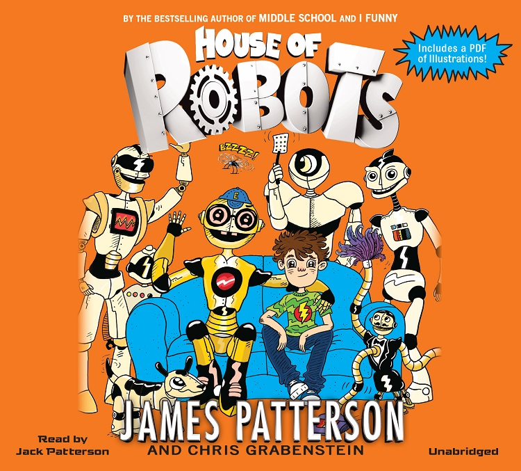 NAPPA Best Gifts for Kids - HOUSE OF ROBOTS by James Patterson