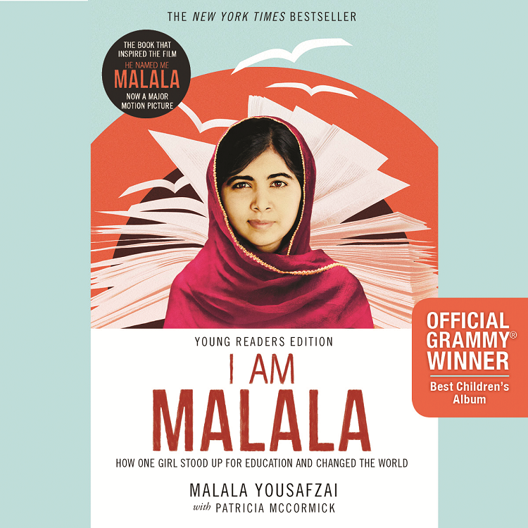 NAPPA Best Gifts for Kids - I AM MALALA: How One Girl Stood Up for Education and Changed the World