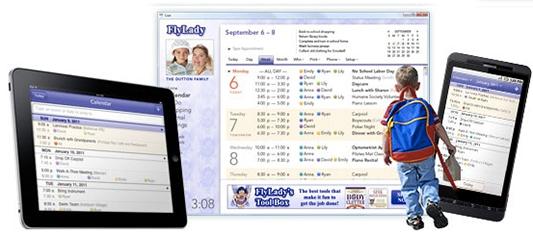 FlyLady Online Organizer Calendar
