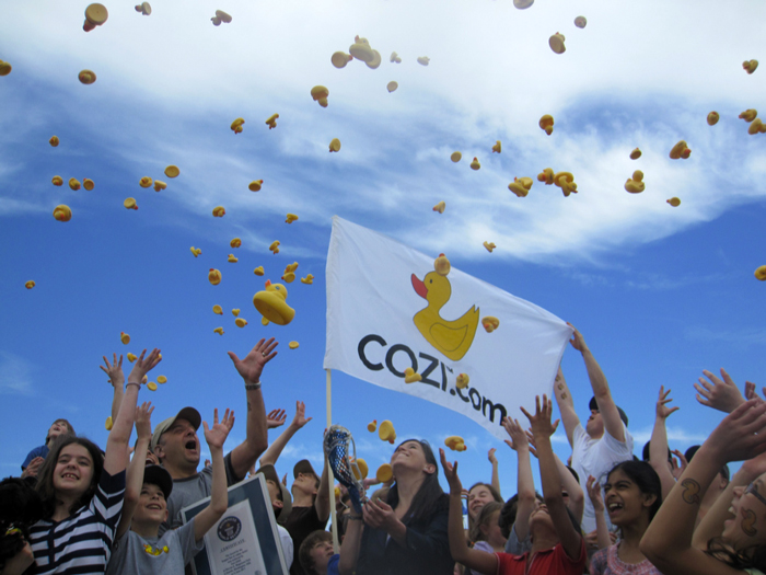 Cozi World Record Celebration