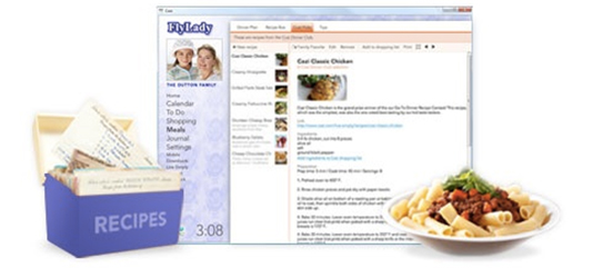 FlyLady Online Organizer Meals