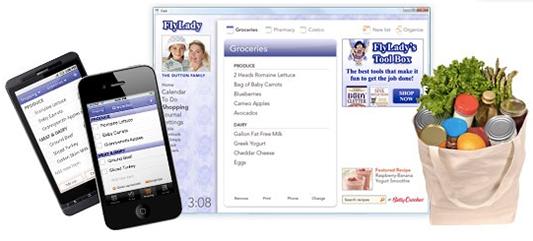 FlyLady Online Organizer Shopping List
