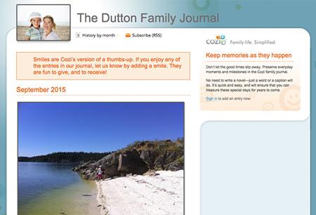 Cozi Family Blog