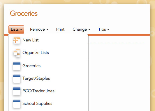 Getting Started With Cozi Shopping Lists  Cozi Family Organizer