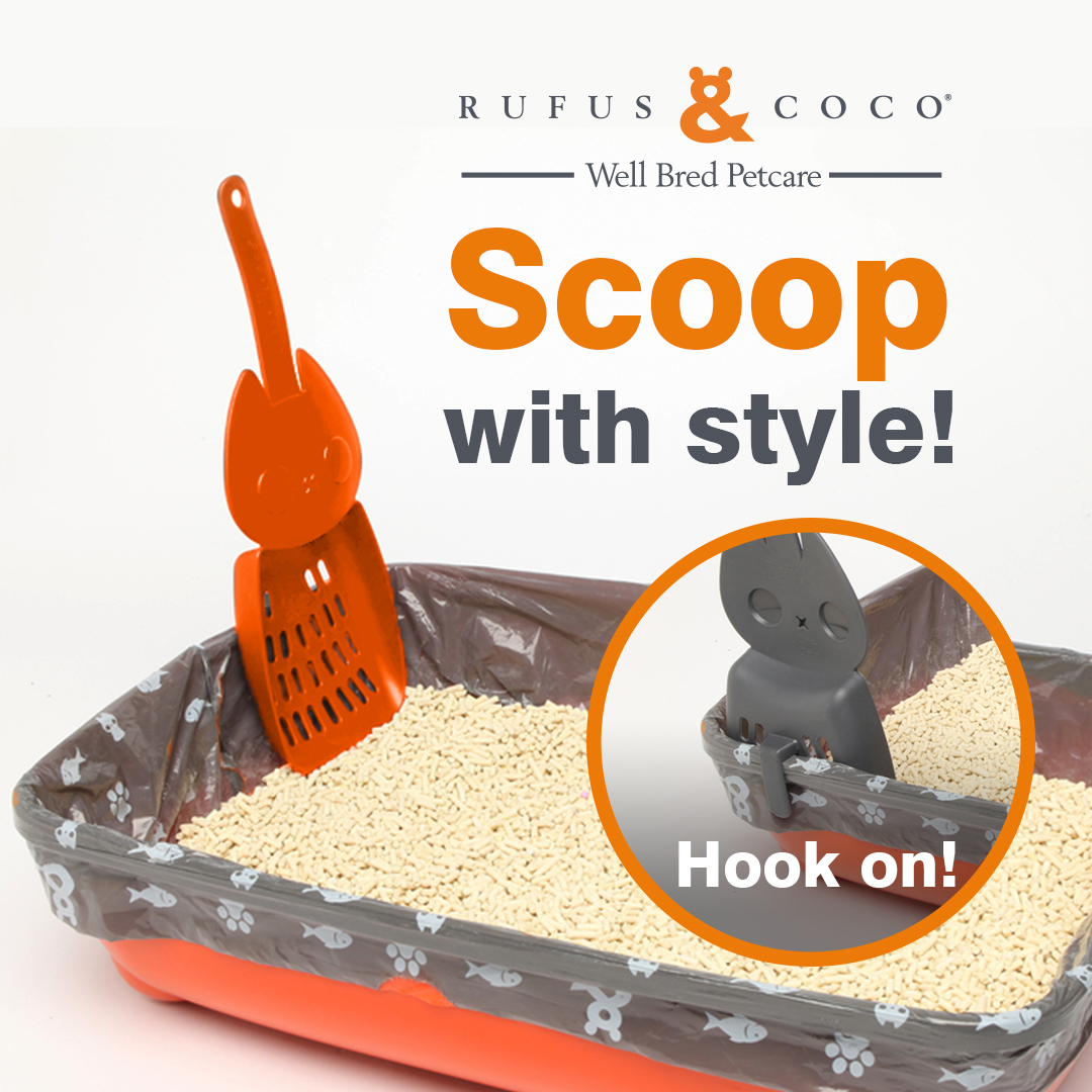 Rufus & Coco Coco Hook-On Litter Scoop