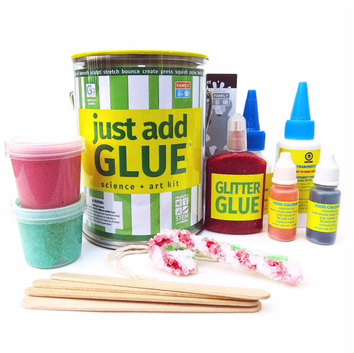 Just Add Glue