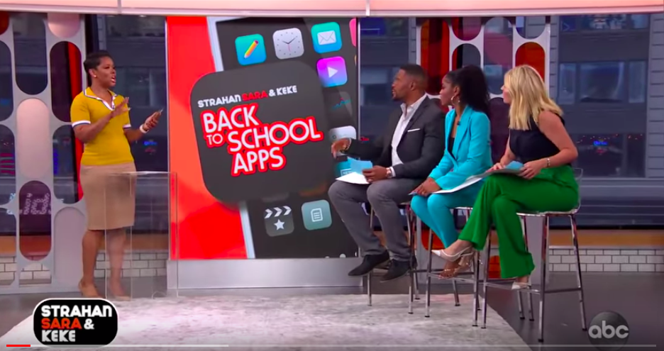 Cozi Featured on Good Morning America's Strahan Sara and Keke!