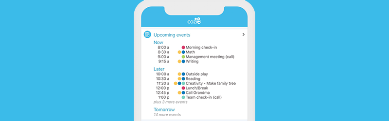 How to Create a Daily Schedule Using Cozi