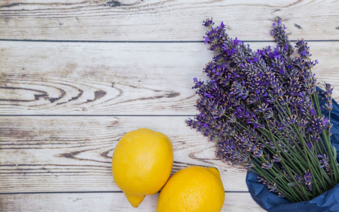 Make Your Own Lavender & Lemon Disinfecting Cleaner